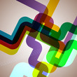 Abstract pipe background.