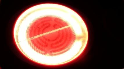Plaque halogène