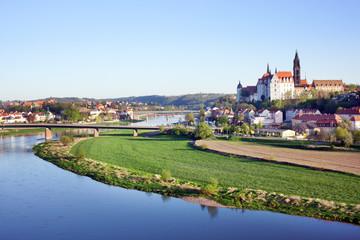 Meissen porcelain town in Saxony