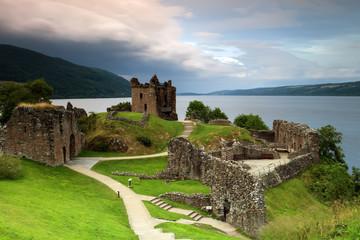 Zamek z Loch Ness Urquhart Castle
