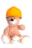 Teddy Bear with Hardhat