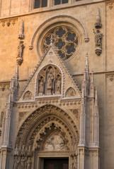 zagreb cathedral entrance