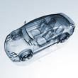 Auto Entwicklung - CAD-Darstellung