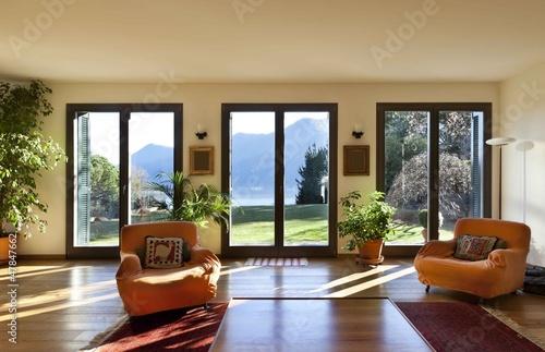 beautiful apartment, interior, living room