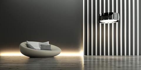 Interior, Modern, Sofa, Einrichtung
