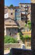 Alleyway. Ronciglione. Lazio. Italy.