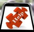 Help On Smartphone Shows Counseling