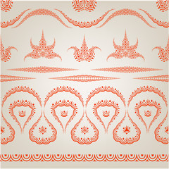 Traditional fabric pattern