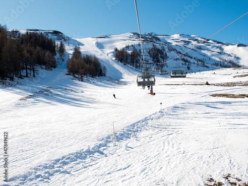 Fototapete österreich - Schön - Wintersport