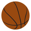 Basketball illustration.