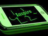 Inspire On Smartphone Shows Stimulation
