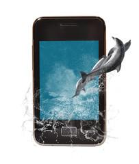 Teléfono multimedia.