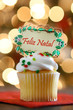 Feliz Natal Cupcake