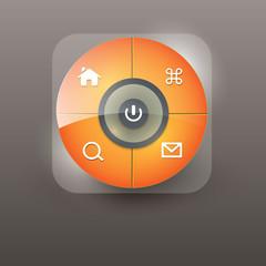 User interface navigation element