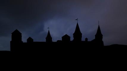 Ukraine Kamianets Podilskyi storm