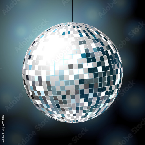 Shiny disco bal
