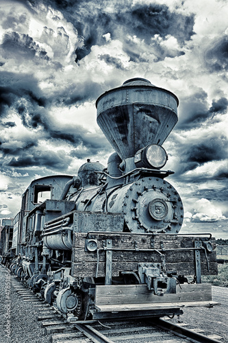 dramatic train