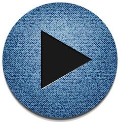 Denim Play button