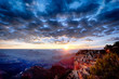 Grand Canyon at sunrise in september