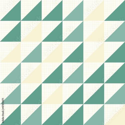 trójkąty w rzędach geometryczny deseń na jasnym tle © demonique