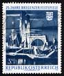 Postage stamp Austria 1970 Bregenz Festival Stage