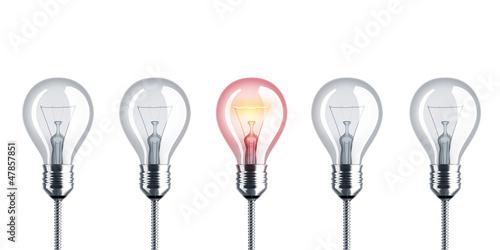 Glühbirne, Glühlampe, Strom, Energie