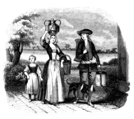 Family : Peasants - 17th century