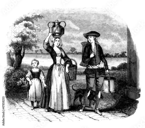 Family : Peasants - 17th century