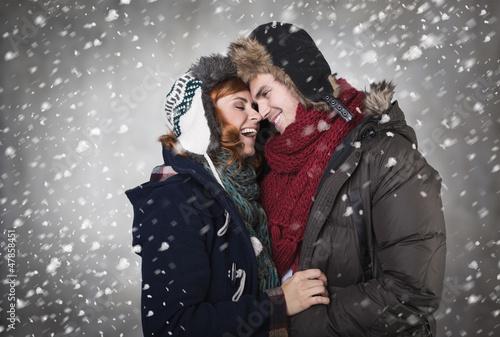 winterpärchen