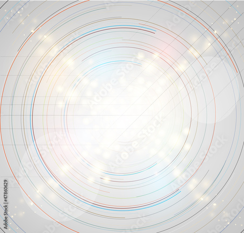 abstract futuristic grey line technology business background