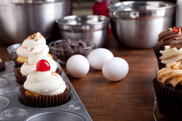 Baking Gourmet Cupcakes