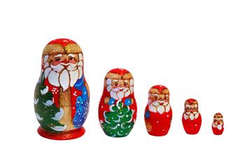 Christmas Matryoshka Dolls