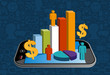 Smart phone financial activity