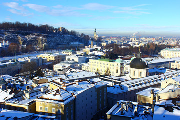 View over Salzburg, Austria