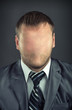 Businessman without face