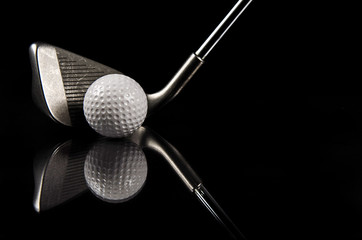 Golf Club Reflection