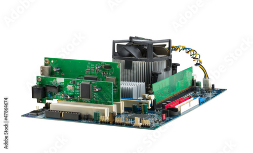 Computer system mainboard
