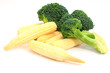 Fresh Baby corn and  Broccoli