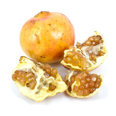 yellow pomegranate