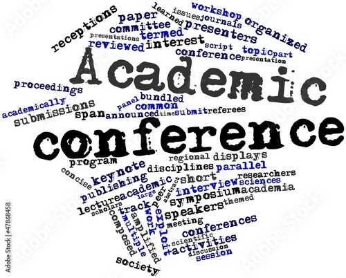 Word cloud for Academic conference