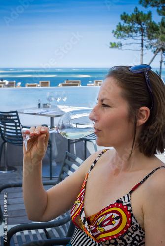 boire un verre avec vue