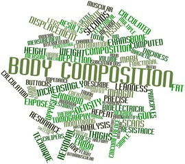 Word cloud for Body composition