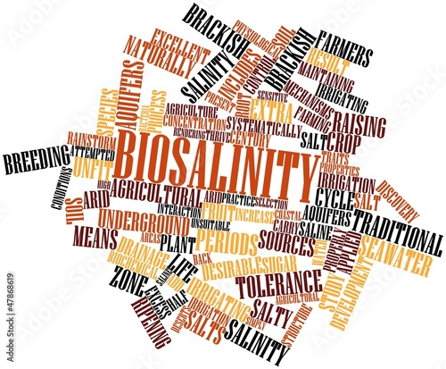 Word cloud for Biosalinity