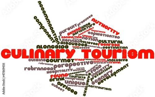 Word cloud for Culinary tourism