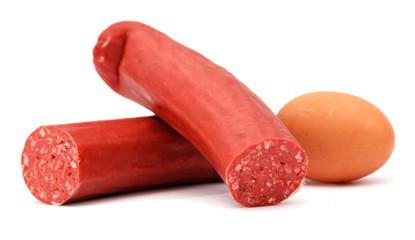 egg and sausage