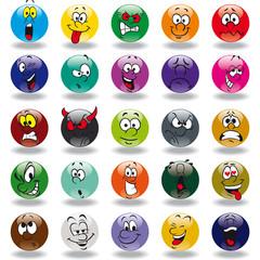 icone espressioni facciali
