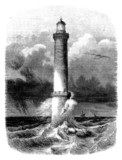Lighthouse - Phare - Leuchtturm - 19th century