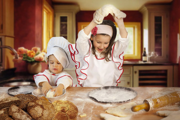 Sweet little bakers