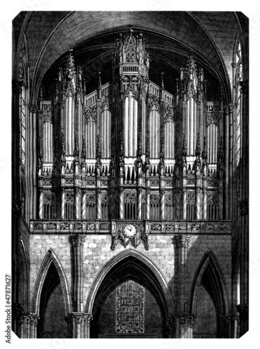 Organ - Orgue - Orgel - 19th century