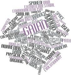Word cloud for Gaian